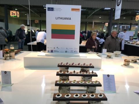 Kulinarijos pasaulio čempionatas - palaikykite Lietuvos komandą!