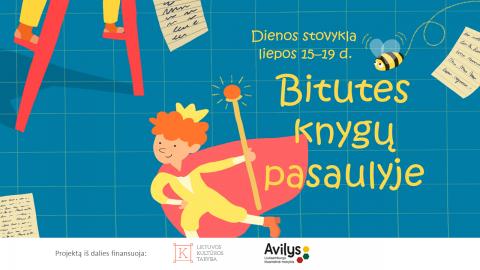 """Registracija į lietuvišką stovyklą Liuksemburge """"Bitutės knygų pasaulyje"""""""