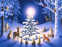 Kalėdų eglutė vaikams